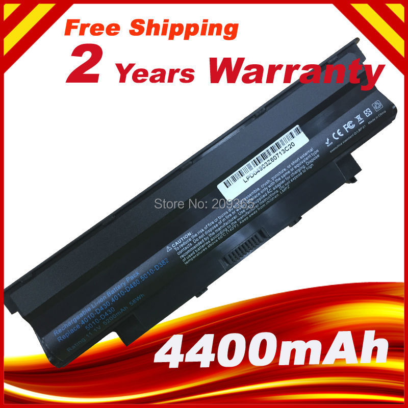 5200mAh laptop Battery j1knd for Dell Inspiron M501 M501R M511R N3010 N3110 N4010 N4050 N4110 N5010 N5010D N5110 N7010 N7110 ноутбук dell inspiron 3567