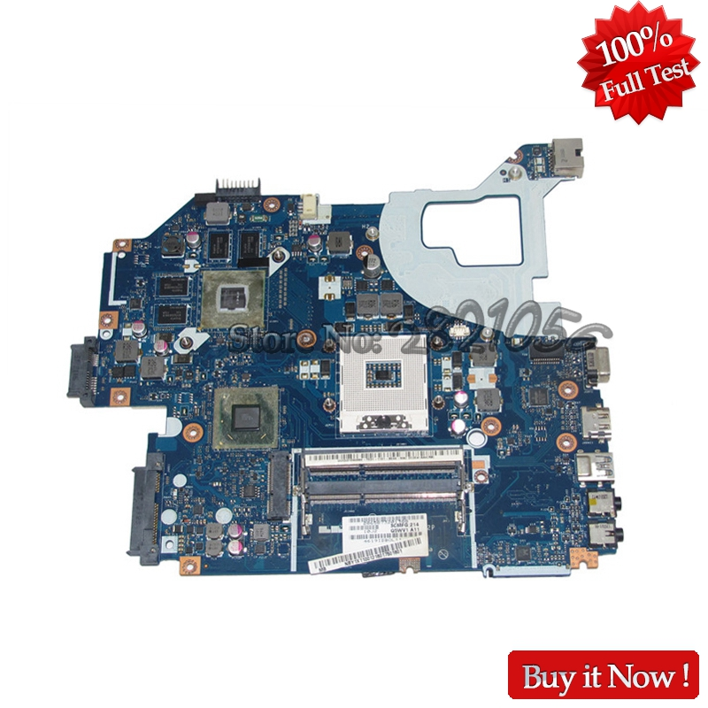 NOKOTION Laptop Motherboard For Acer aspire V3-571G E1-571G MAIN BOARD NBY1X11001 Q5WVH LA-7912P HM77 DDR3 GT630M GPU kb320 wireless bluetooth laser virtual projection keyboard touchpad mouse for tablet smartphone