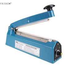 110V Heat Sealer Impulse Sealer Household Manual Plastic Bag Sealer Machine Poly Tubing Bag Packaging Machine for Kitchen Accs цена в Москве и Питере