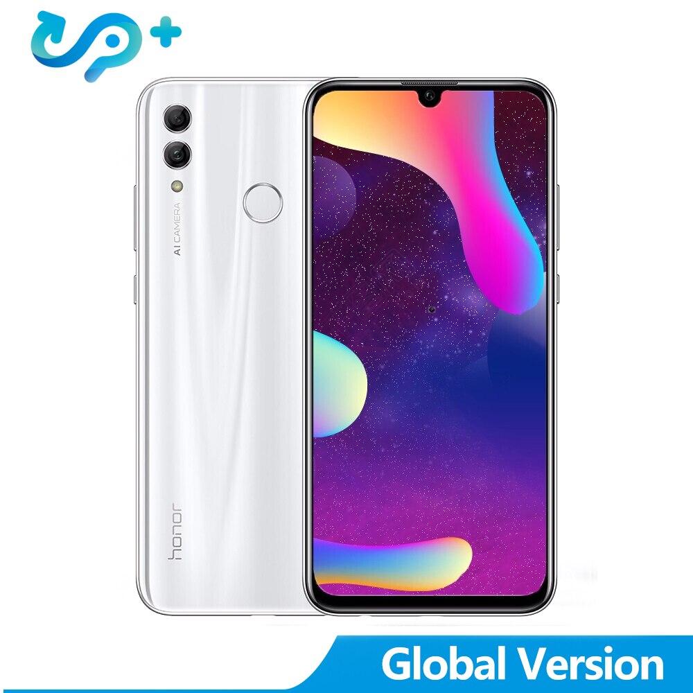 """Global Version Huawei Honor 10 Lite 6.21"""" Full Screen Mobile Phone Dual Font Rear Camera Kirin 710 Octa Core 2340*1080P"""