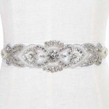 Cinturon De Novia ручной работы из бисера Кристаллы свадебный пояс с камнями свадебное платье аксессуары Стразы для свадебного пояса бруиды рием