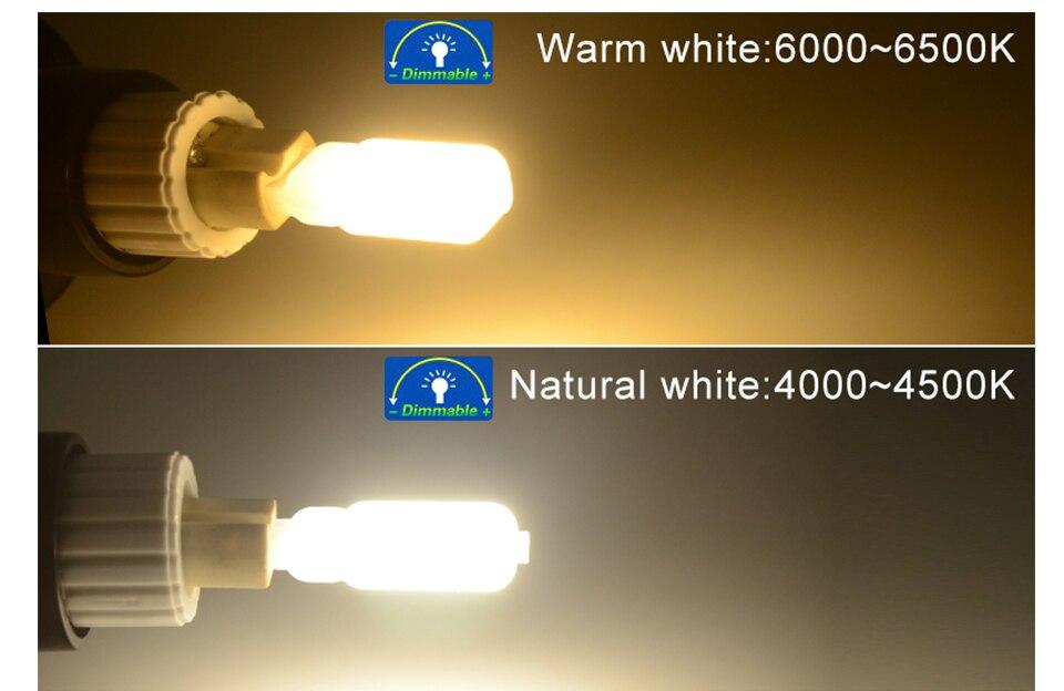 G9 LED Bulb Lamps 220V 110V LED G9 Dimmable 142232 LEDs Ampoule Bombillas LED Lamp Light Bulbs  (6)