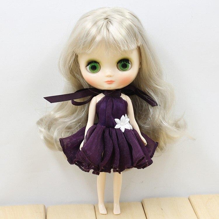 Middie Blythe Doll Colorful Elegant Dresses 3