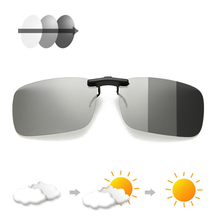 Photochromic Polarised Clip On Sunglasses UV400 Polarized Fi