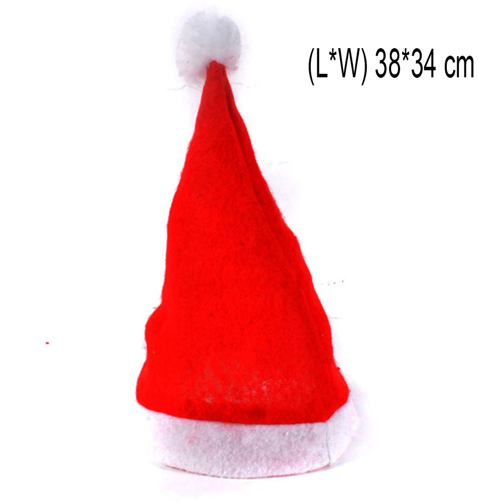 Christmas Hat Party Part - 42: Aliexpress.com : Buy New Christmas Hat Decoration Christmas Cap Santa Elf  Fancy Dress Costume Accessory Xmas Party Hat From Reliable Hat Decoration  ...