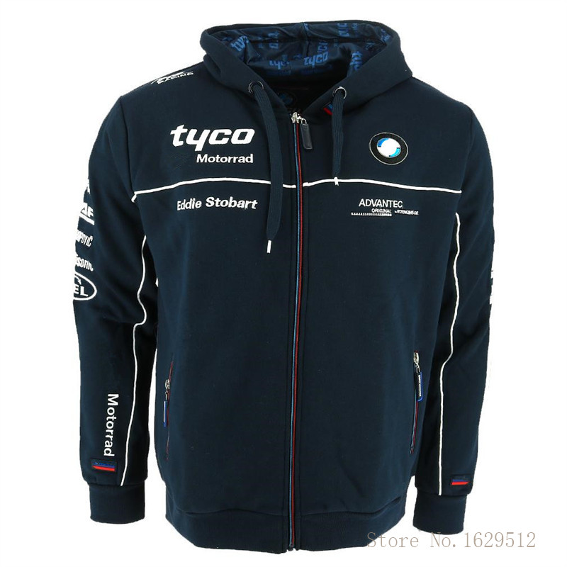 2019 New Motorrad Motorsport Jacket For BMW Tyco Motorcycle Racing Hoodies Sweatshirt Windproof Men s Motorbike