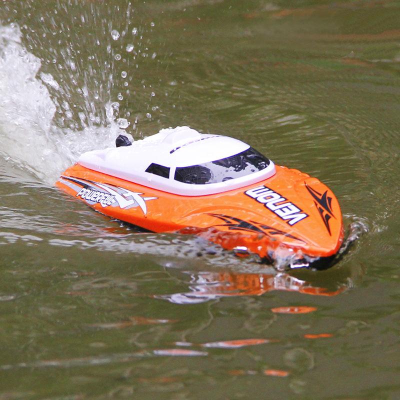 ФОТО 2.4G RC Boat UDI udi001 boat Infinitely Variable Speeds/high Speed Racing Boat 32CM 25km/h Best Gift