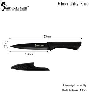 Image 3 - SOWOLL 包丁シェフナイフアクセサリー 8 インチ日本の高炭素ステンレス鋼野菜三徳調理ナイフツール