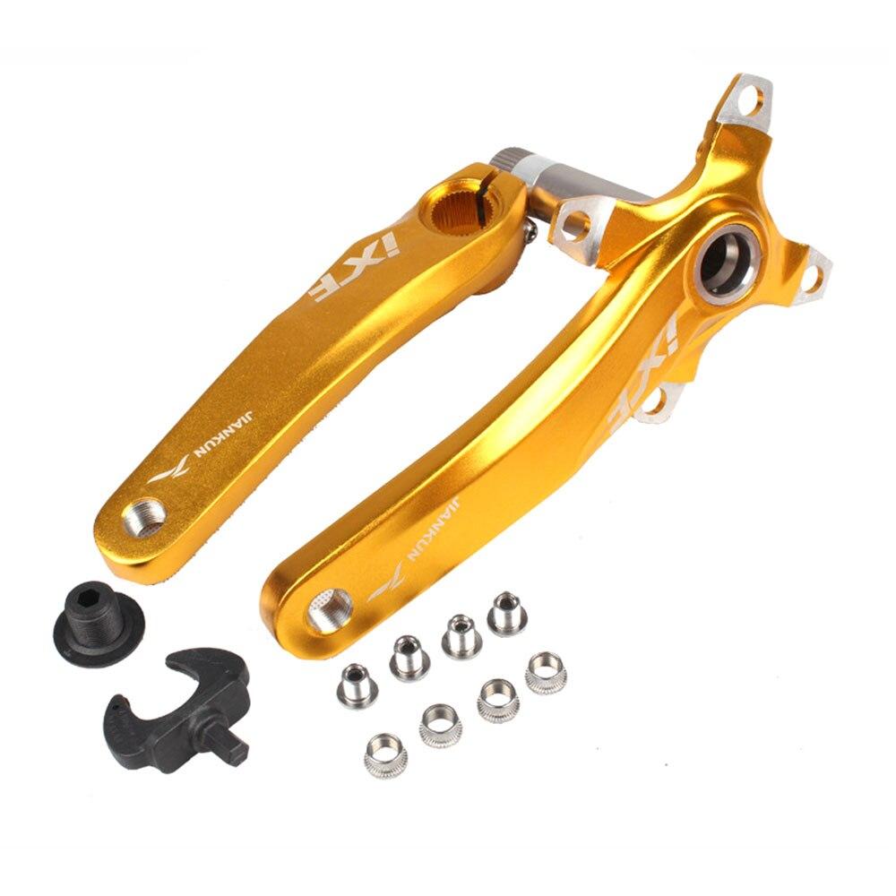 Image 4 - Conjunto de manivela da bicicleta ixf 104 bcd cnc untralight  manivela braço mtb/estrada manivela com bb manivela para acessórios da  bicicleta partecrankset mtbcrank setbicycle crank set