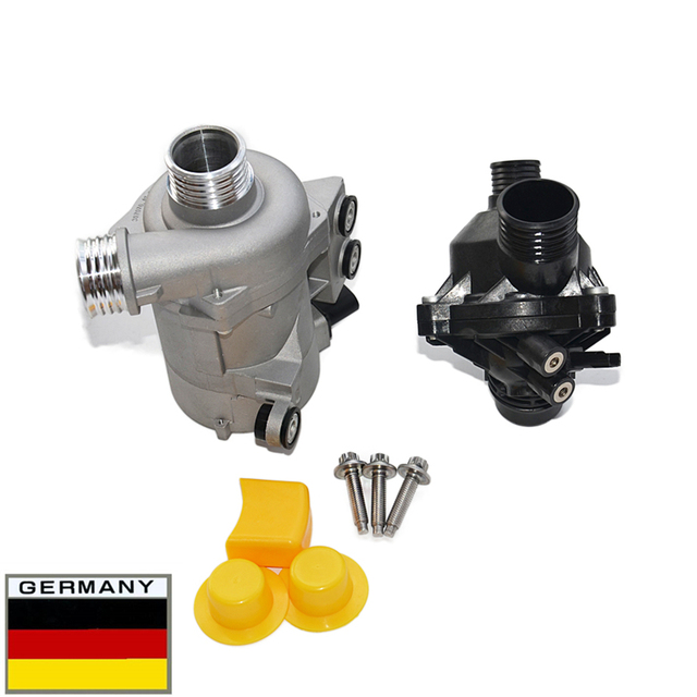 Electric Water Pump Thermostat Bolt For Bmw 128i 325i 325xi 328i 328xi 330i 330xi 525i 525xi 528i 528xi 530i 530xi X3 X5 Z4