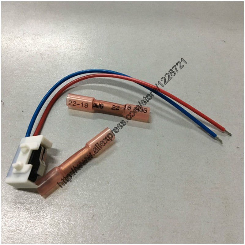 1Pcs 3BD998786 Right Wiring Harness with Side Metal Slice Plate Right Micro Switch for Door Lock VW Passat B5 Bora Polo Golf MK4 dazoo one set door lock actuator for vw passat b5 golf jetta mk4 beetler rear left and right 3b1 839 015 b 3b1 839 016b