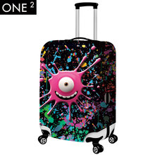"Free Shipping Travel on Road Luggage Cover Protective For Trunk Case Covers Apply to 22""~26"" Suitcase Thick Elastic Perfectly"