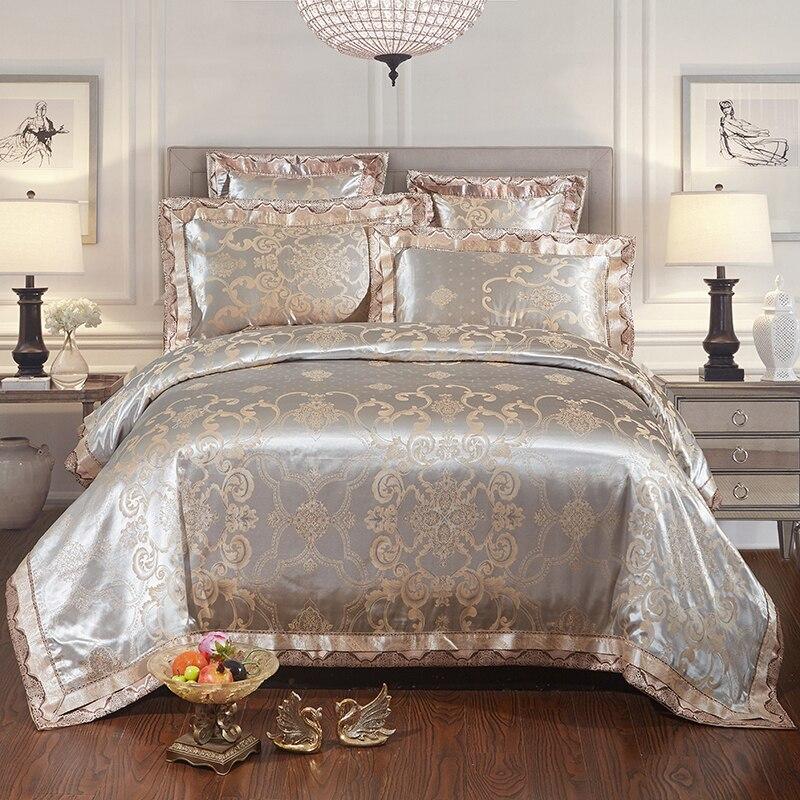 ᗔ2017 Nuevo lujo 22 tipos Jacquard de satén de algodón seda encaje ...
