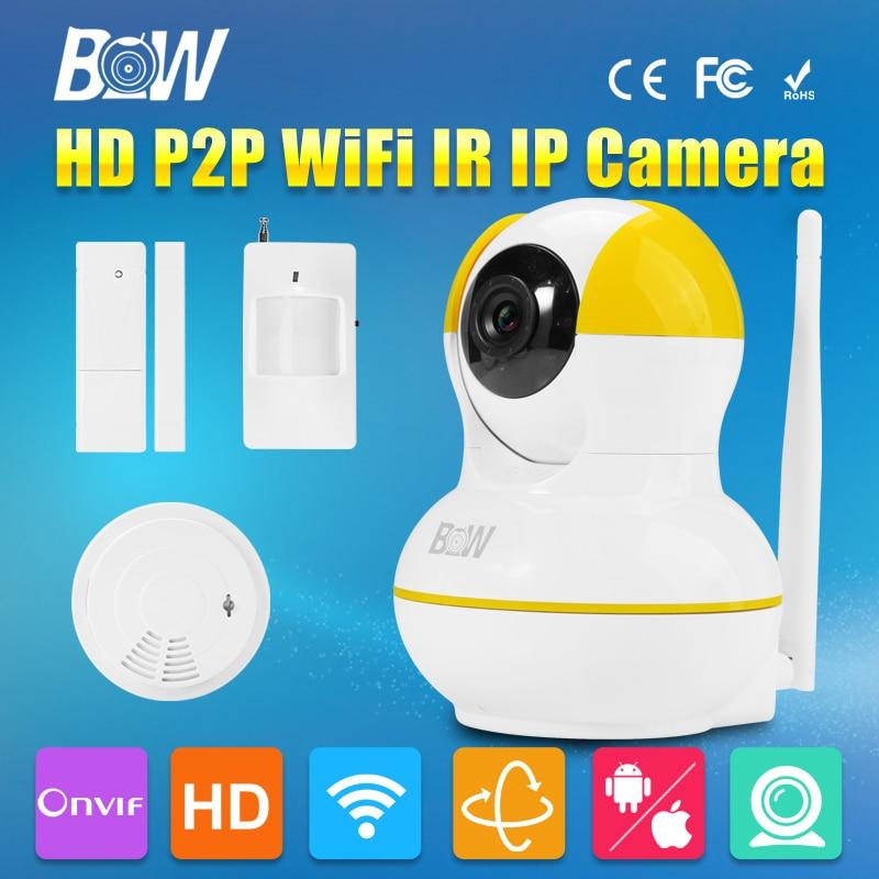 BW HD 720P MegaPixel Lens Filter P2P Mini IP font b Camera b font Wireless Wifi
