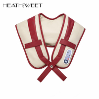 Healthsweet Vibration And Kneading Massage Machine Shoulder Neck Massage Shawl Car Home Dual Use Kneading Back