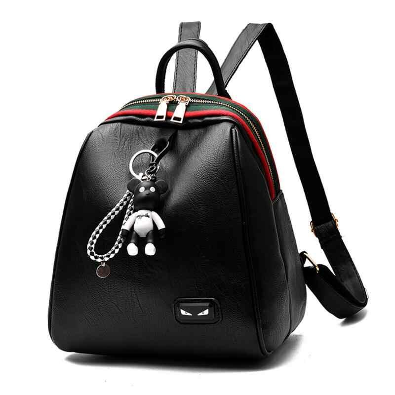 d89082825a5c Для женщин рюкзак высокое качество из искусственной кожи Mochila Школьные  ранцы для подростков Обувь для девочек
