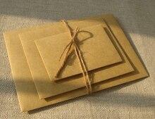 Retro Square Blank Kraft Paper Envelopes Simple Personality Hand Art Creative Invitation Letter Envelope