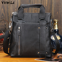 The new 2016 high-quality goods men's bags European and American fashion one shoulder aslant portable head layer cowhide bags