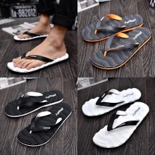 Dwayne Summer Men Flip Flops Comfortable High Quality Beach Sandals Anti-Slip Adult Outdoor Striped Slippers