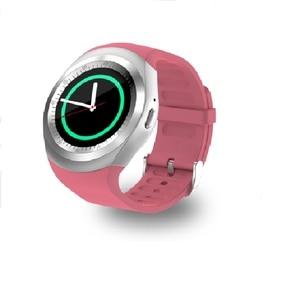 Image 2 - מפעל 2G Smartwatch 1.22 אינץ מלא עגול תצוגת sim יחיד nano sim Bluetooth SM01 חכם שעון ללא מצלמה