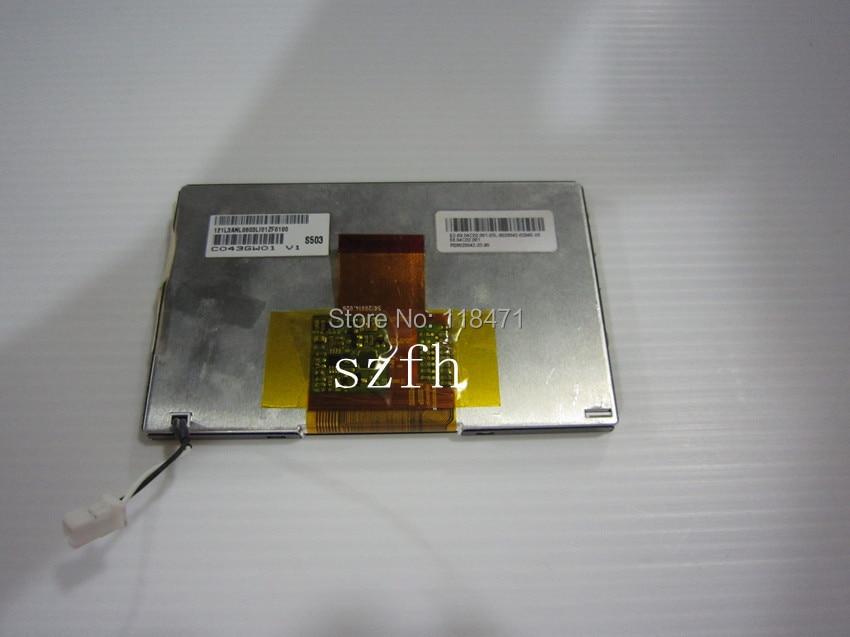 Electronic Components & Supplies Lcd Modules Charitable 4.3 Inch Lcd Panel C043gw01 V1 Lcd Display 400 Rgb*234 Led Lcd Screen 1ch 8-bit 600 Cd/m2