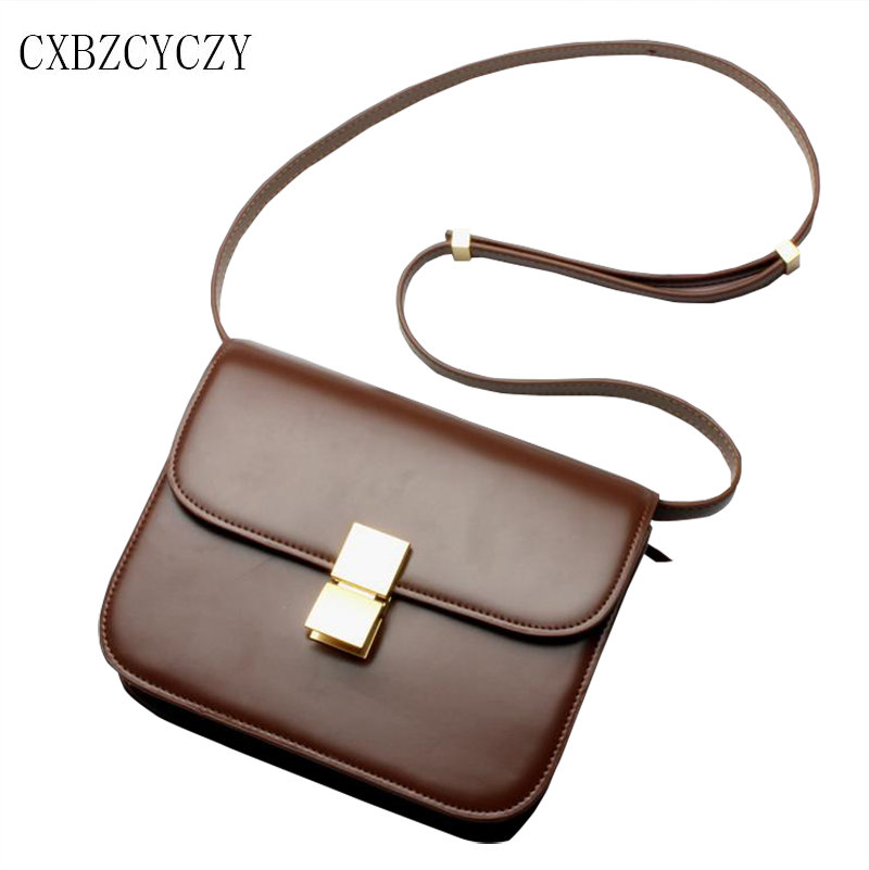Fashion Women Messenger Bags Genuine Leather Crossbody Frosted leather Shoulder Bags For Women Handbags Casual Small Square Bag 2017 fashion all match retro split leather women bag top grade small shoulder bags multilayer mini chain women messenger bags