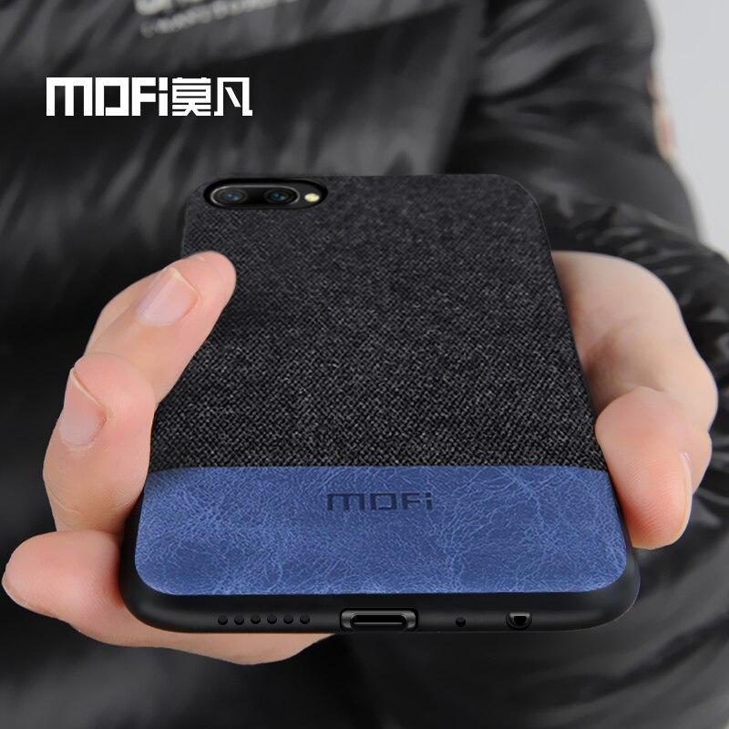 Huawei honneur 10 cas couverture honneur 10 lite couverture arrière tissu antichoc silicone cas capas coque MOFi d'origine honor10 cas