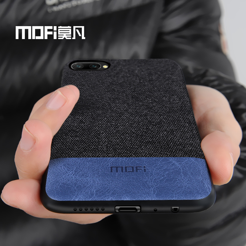 Huawei honor 10 case cover honor 10 lite back cover fabric shockproof silicone case capas coque MOFi original honor10 case