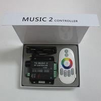 100% Brand New RF 20 M 2 Eficaz Intelligent RGB Música Controlador de Sonic & Sensibilidade Remoto