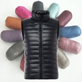 Men Light Weight Down Puffer Gilet Vest Body Warmer Waistcoat Padded Slim Fit Winter New Fashion 904-302