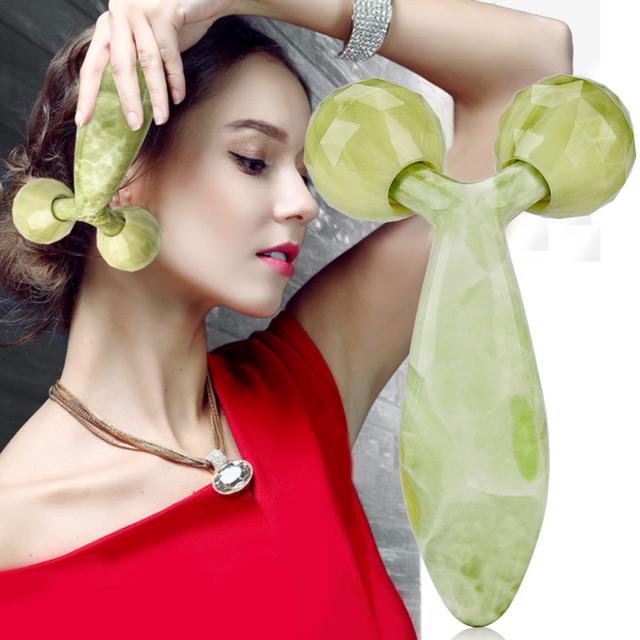 360 Degree Rotation Facial Jade Roller