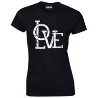 Love Women S T Shirt Mom Cute Wife Boss Tee Shirts Sexy T Shirt Women Tops