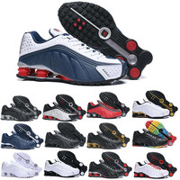 2019 shox r4 men running shoes top quality NEYMAR OG COMET RED RACER BLUE Black Metallic mens trainers sports sneakers 40 45