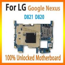 Материнскую плату разблокирована 16 Гб для LG Google Nexus D821 D820 материнская плата со всеми ЧИПАМИ материнская плата Рабочая хорошо