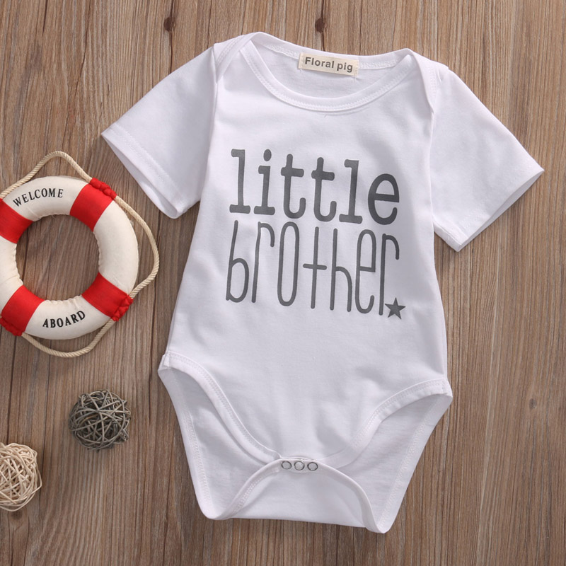 Little Brother Baby Boy Romper 12
