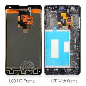 Image 3 - Lg E975 ディスプレイのタッチスクリーン用の元の表示フレームlgオプティマスg E975 液晶LS970 F180 E971 e973 テスト