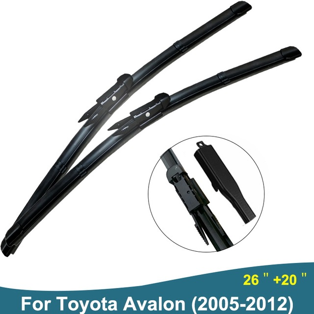 Car Wiper Blades Windshield Wipers For Janitors Windscreen Toyota Avalon 2005 2017