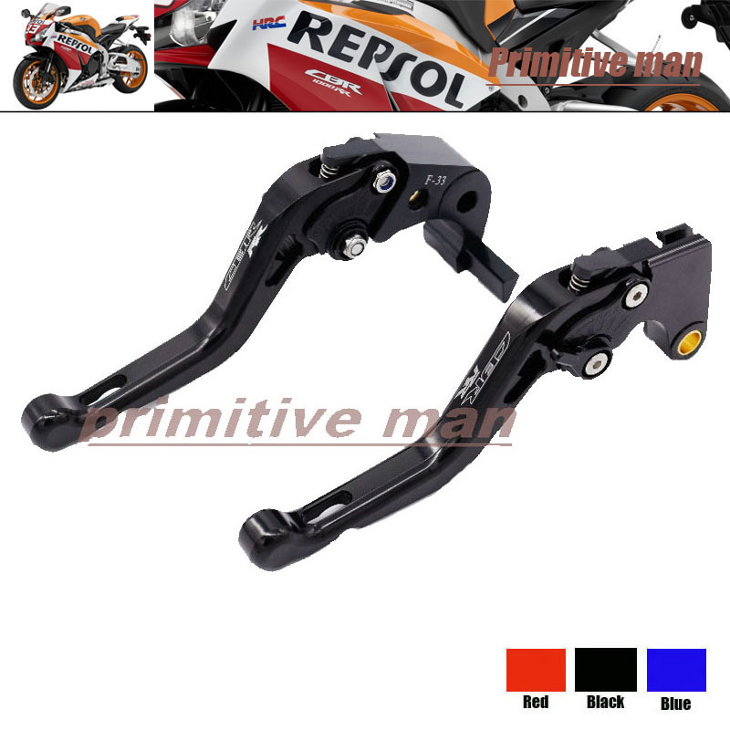 For HONDA CBR1000RR 2008-2013  Motorcycle Short Brake Clutch Levers Black arashi motorcycle radiator grille protective cover grill guard protector for 2008 2009 2010 2011 honda cbr1000rr cbr 1000 rr