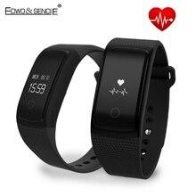 Edwo a09 smart watch кровяное давление кислорода диапазон сердечного ритма health monitor трекер активности bluetooth водонепроницаемый для ios android