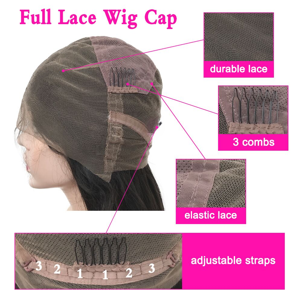 Eseewigs Curly Full Lace Wigs Pre Plukced Brazilian Remy Human Hair With Natural Baby Hair Around For Black Women