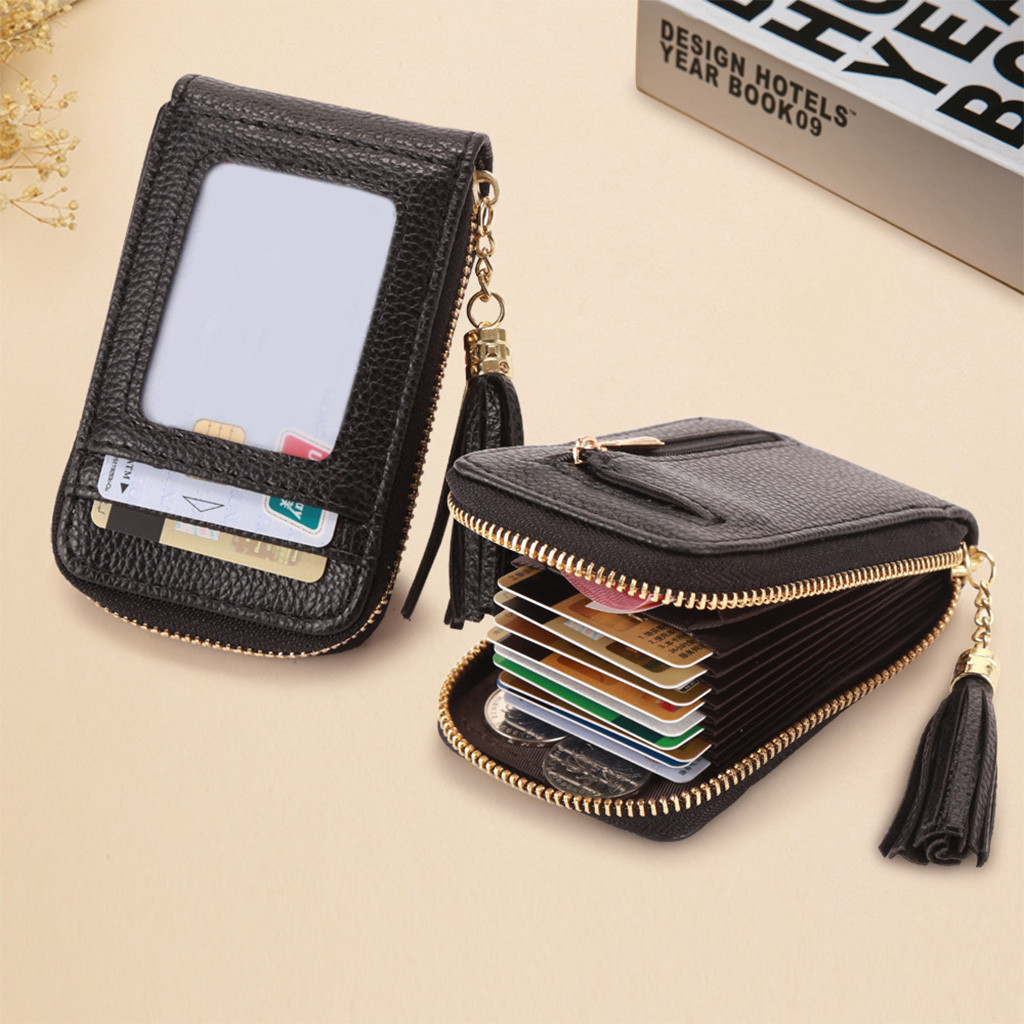 2019 Women Wallets Small Cute Short Wallet Matte Leather Women Wallet Zipper Purses Portefeuille Female Purse Clutch Card Holder(China)