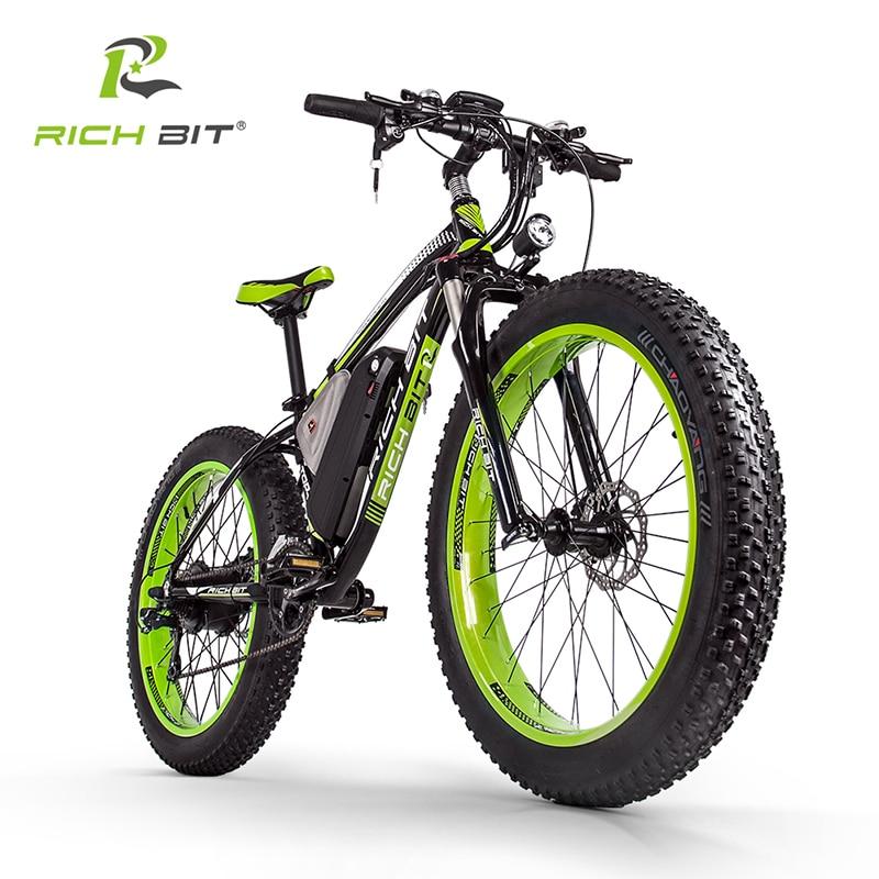 RichBit RT-012 Ditambah 21 s Sepeda Listrik Dengan Komputer Odometer - Bersepeda - Foto 4