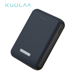 KUULAA Power Bank 10000mAh Portable Charge Pover Bank 10000 mAh Dual USB Mini External Battery Charger For Xiaomi Mi 8 PoverBank