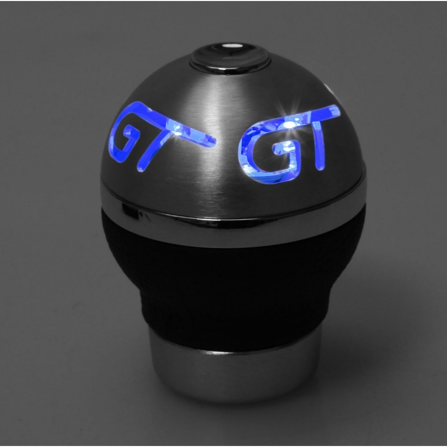 Universal Car LED Manual Gear Shift Knob Shifter & Battery Hex Key Rubber Sleeve 6