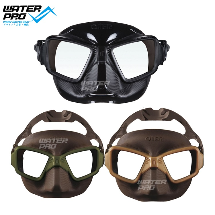 OMER Zero 3 mask Diving Mask Low volume freediving mask o me r omer d20