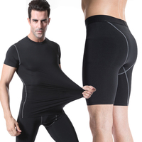 Brand Sport Running Suits Men Running Gym Tights Sets Quick Dry Fitness Bodybuilding Mens Sportswear Compression