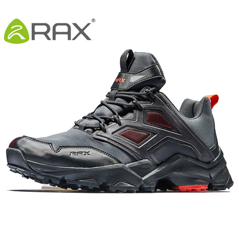 RAX 2017 Mens Hiking Shoes Men Outdoor Trekking Walking Shoes Men Large Size Hiking shoes Men Outdoor Sports Sneakers 2017 new mens hiking shoes black blue walking shoes men autumn winter outdoor sport sneakers high top leather trekking shoes men