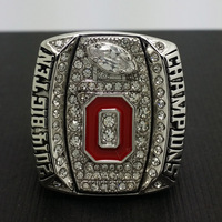 2014 2015 Ohio State Buckeyes National College Football Championship Ring 8 14Size High Quality Solid Ring