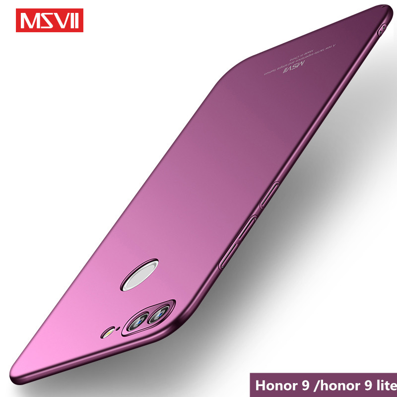 coque For huawei Honor 9 lite case MSVII Luxury Hard PC protection Back Cover for huawei Honor 9 9lite Honor9 phone case ...