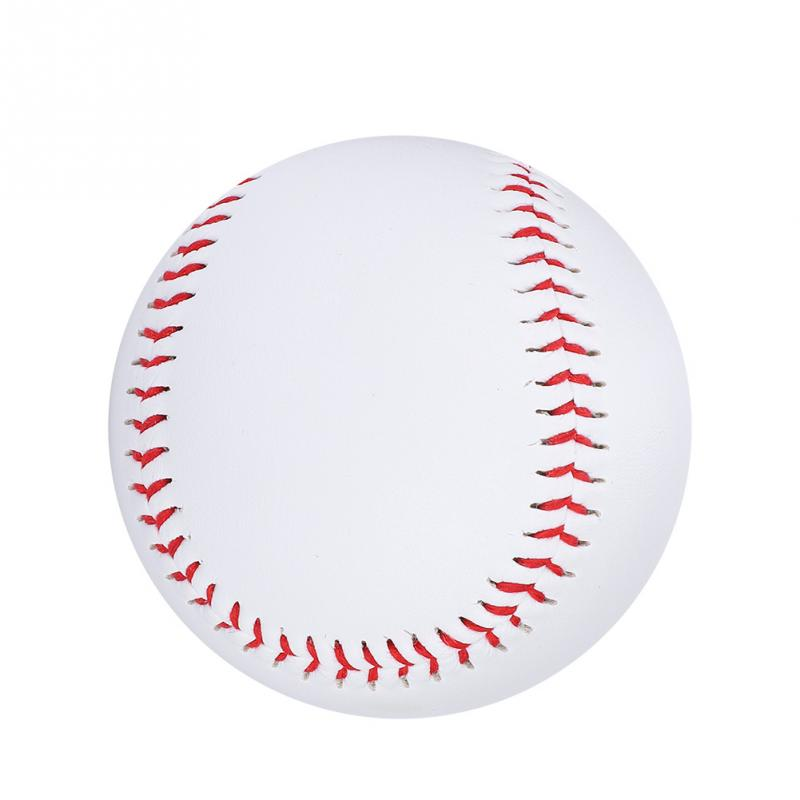 "Fashion Style 9"" Soft Baseball Ball High Quality Cowhide Softball Ball Standard Reduce Impact Training Exercise Baseball For Students Practice Careful Calculation And Strict Budgeting"